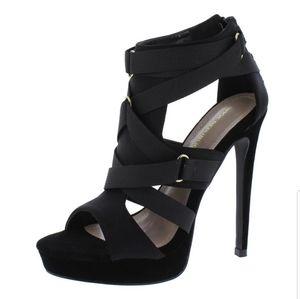 Shoe Republic LA Harness Your Power Strappy Heels